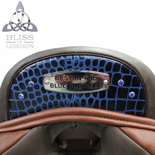 Best in Blue Croc Cantle