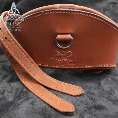 Cognac Girth Leathers