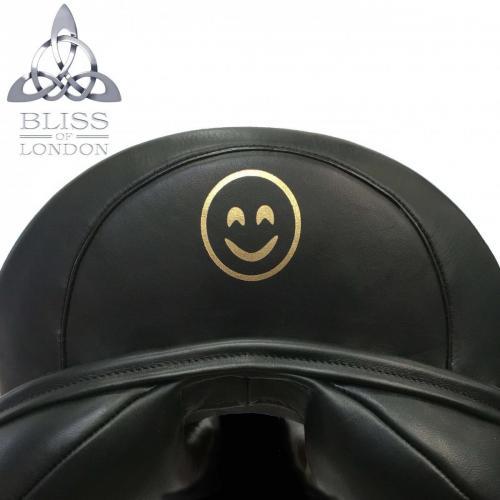 Gold emoji Arch Cantle